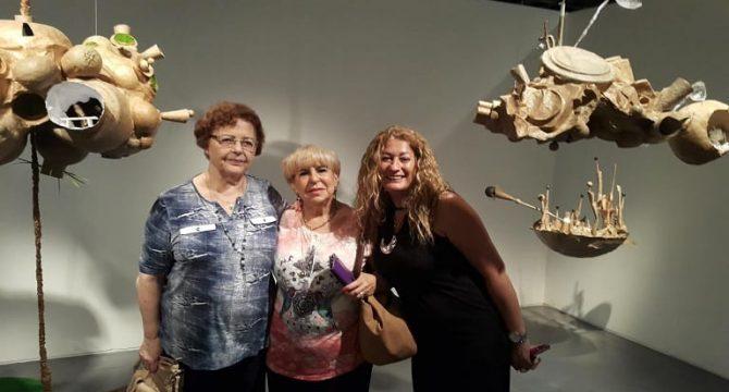 דיירות בית ראשון לציון במוזיאון תל אביב