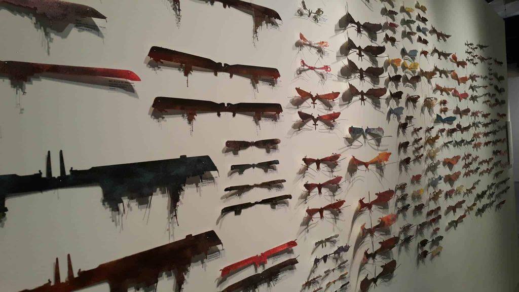 פריטי אומנות במוזיאון תל אביב